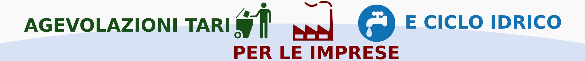 Agevolazioni tari e ciclo idrico per le imprese 2018 for Agevolazioni utenze domestiche